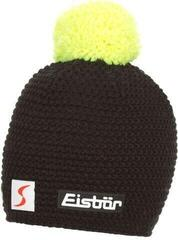 Eisbär Jamie Pompon Skipool Beanie Black/Light Yellow