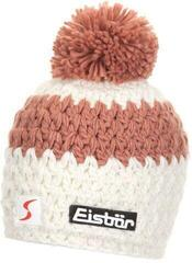 Eisbär Bennet Pompon Skipool Beanie White/Indian Red/White