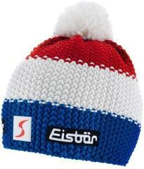 Eisbär Star Pompon Skipool Beanie Blue/White/Red