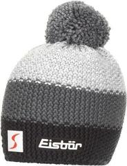 Eisbär Star Pompon Skipool kids Beanie Charcoal/Anthracite/Grey