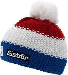 Eisbär Star Pompon Skipool Dětská Čepice Blue/White/Red