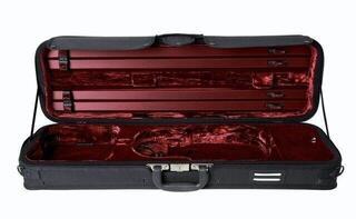 GEWA Violin Case Strato De Luxe Burgundy 4/4