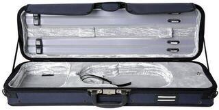 GEWA Violin Case Strato De Luxe Silver 4/4