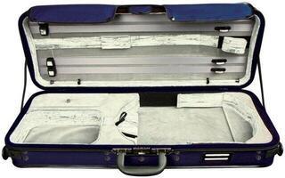 GEWA Viola Case Strato De Luxe Silver
