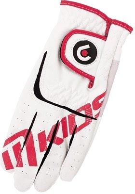 Masters Golf Junior Golf Glove White/Red LH M