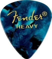 Fender 351 Shape Premium Picks Ocean Turquoise Heavy