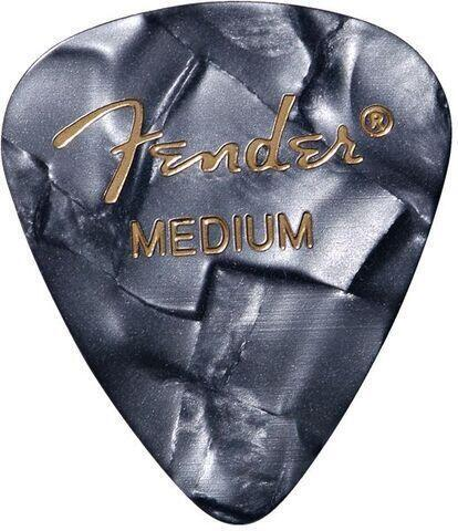 Fender 351 Shape Premium Picks Black Moto Medium