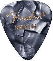 Fender 351 Shape Premium Picks Black Moto Medium