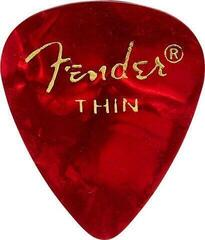 Fender 351 Shape Premium Picks Red Moto Thin