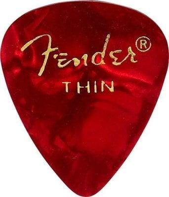 Fender 351 Shape Premium Picks Red Moto Thin