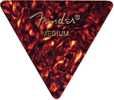 Fender 355 Shape Classic Celluloid Picks Shape Shell Medium