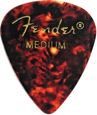 Fender 351 Shape Classic Celluloid Picks Shell Medium