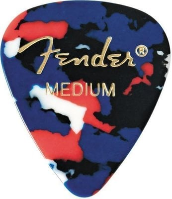 Fender 351 Shape Classic Celluloid Picks Confetti Medium