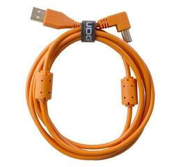 UDG Ultimate Audio Cable USB 2.0 A-B Orange/Straight - Angled