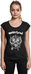 Motörhead Ladies Motörhead Logo Cutted Back Tee Black