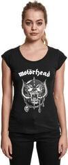 Motörhead Ladies Motörhead Logo Cutted Back Tee Black