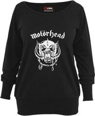 Motörhead Ladies Motörhead Everything Louder Wideneck Crewneck Black