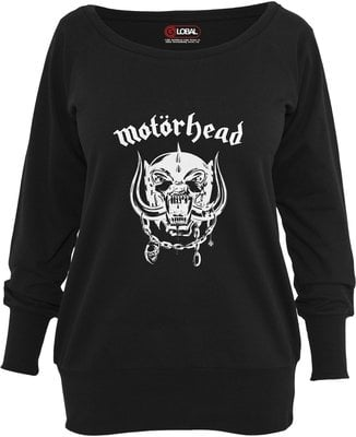 Motörhead Everything Louder Wideneck Crewneck Black M