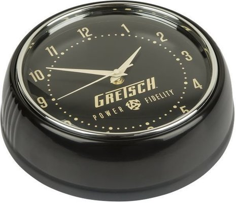 Gretsch Power & Fidelity Retro Wall Clock