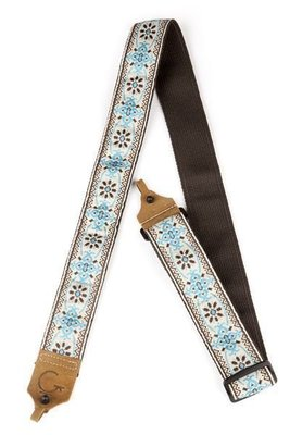 Gretsch G Brand Banjo Strap Blue/Brown