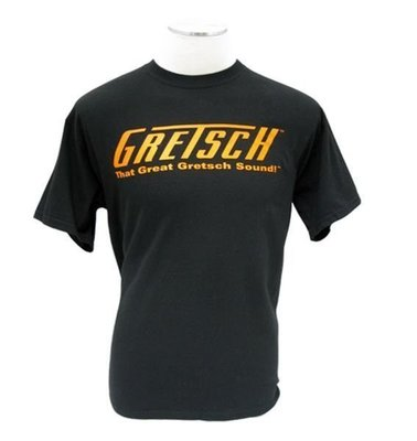Gretsch That Great Gretsch Sound! T-Shirt Black XL
