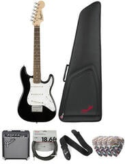 Fender Squier Mini Stratocaster V2 IL Black Deluxe SET