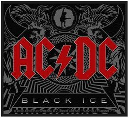 Rock Off AC/DC Standard Patch Black Ice (Loose)