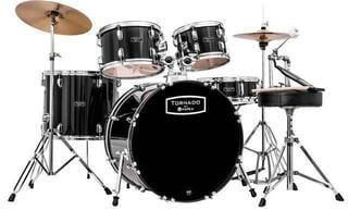 Mapex TND5294FTCDK Tornado V2 Fusion 22 Drumset Black New Package