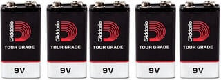 D'Addario PW-9V-05 9V Batterie