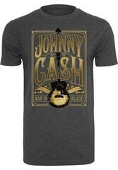 Johnny Cash Man In Black Tee Charcoal XL