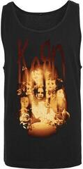 Korn Face in the Fire Tanktop Black