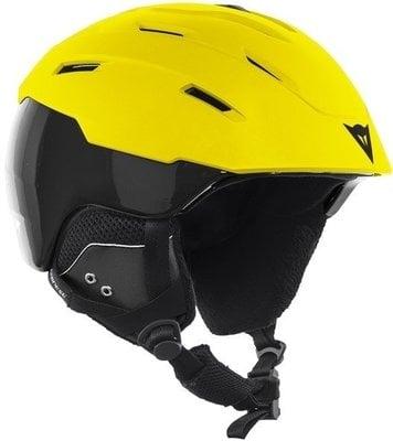 Dainese D-Brid Ski Helmet Lemon Chrome/Stretch Limo M/L