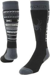 Spyder Stash Mens Ski Socks Black