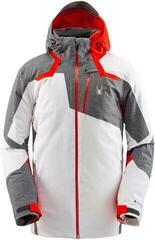 Spyder Leader Gore-Tex Mens Ski Jacket White