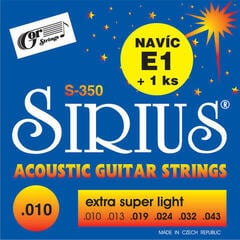 Gorstrings S-350 Extra Super Light 10