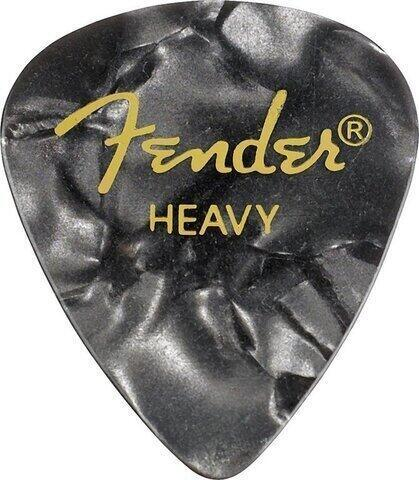 Fender 351 Shape Premium Pick Heavy Black Moto