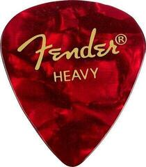 Fender 351 Shape Premium Pick Heavy Red Moto