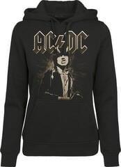 AC/DC Ladies ACDC Angus Hoody Black