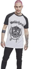Motörhead Everything Louder Raglan Tee White/Black
