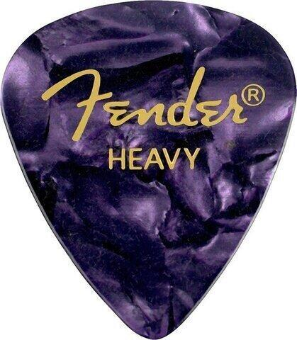 Fender 351 Shape Premium Pick Heavy Purple Moto
