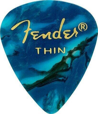 Fender 351 Shape Premium Pick Thin Ocean Turquoise