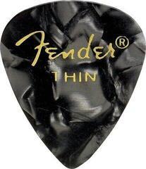 Fender 351 Shape Premium Pick Thin Black Moto