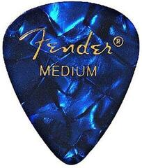 Fender 351 Shape Premium Pick Medium Blue Moto