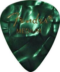 Fender 351 Shape Premium Pick Medium Green Moto