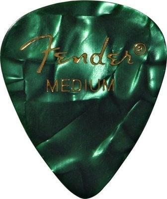 Fender 351 Shape Premium Pick Medium Green Moto