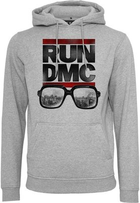Run DMC City Glasses Hoody Heather Grey M