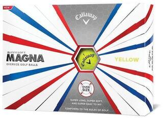 Callaway Supersoft Magna Golf Balls 19 Yellow 12 Pack