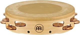 Meinl AE-MTAH2BO Headed Artisan Tambourine Cymbal Bronze Jingles 2 Rows