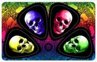 PikCard PC427 3-D Skulls Pickcard