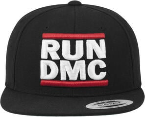 Run DMC Logo Snapback Black One Size